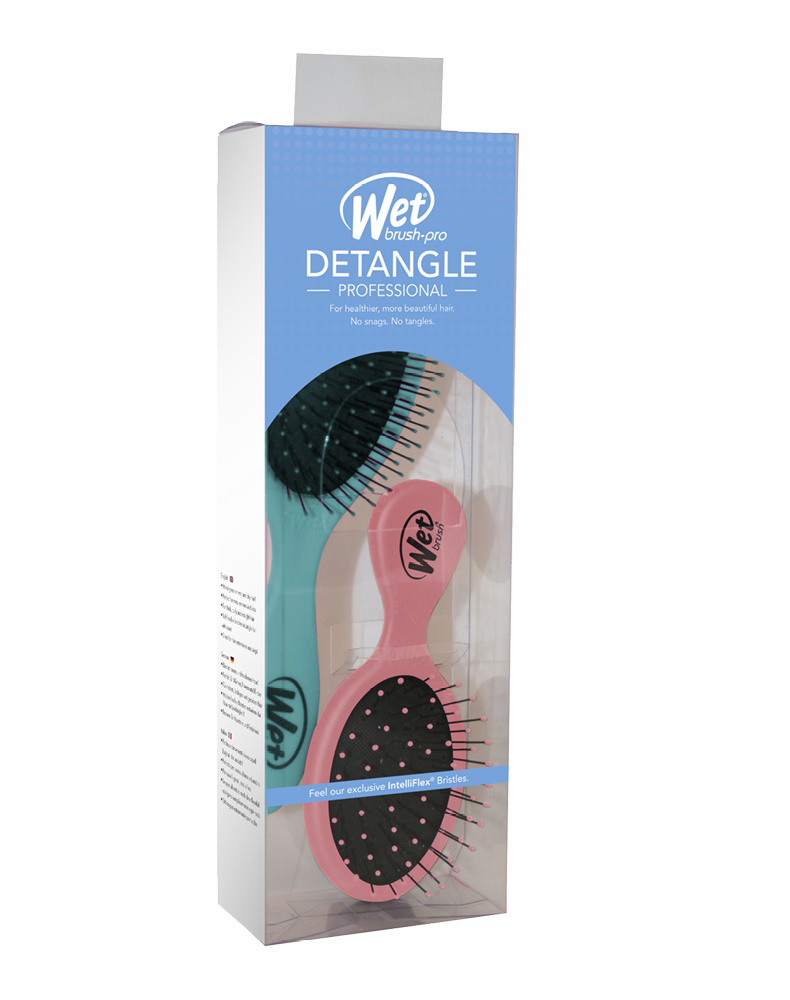 The Wet Brush Duo - Cotton Candy