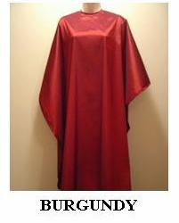 Water Repellent Shampoo/Cutting Capes - Burgundy