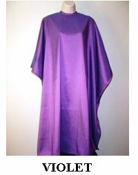 Water Repellent Shampoo/Cutting Capes - Violet