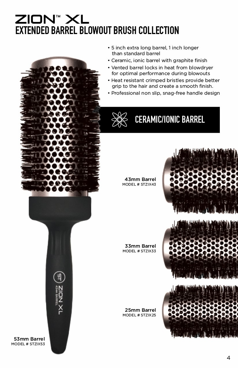 Zion Brushes by Smart Tech Set