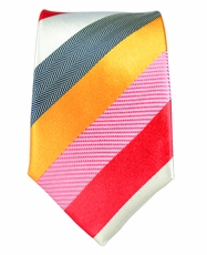 100% Silk Slim Tie by Paul Malone