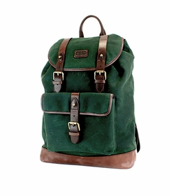 Alpine Green Rucksack by The British Belt Company