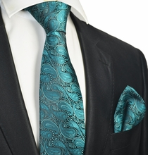 Bayou Tie and Pocket Square Set