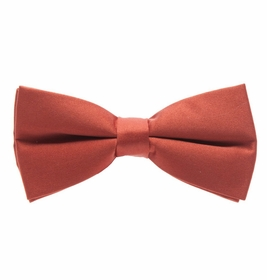 Burnt Orange Bow Tie (BT10-PP)
