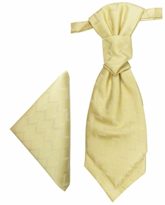 Cream Cravat Set by Paul Malone (PLV5H)