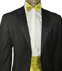 Fratello Cummerbund and Bow Tie . Yellow