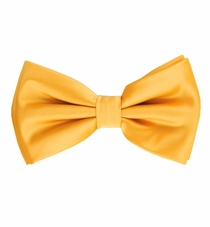 Gold Bow Tie and Pocket Square Set (BT100-JJ)