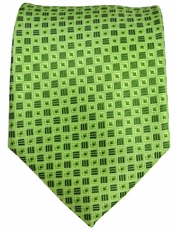 Green Men's Necktie