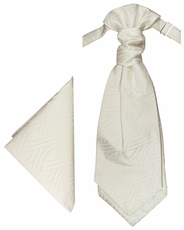 Ivory Cravat Set by Paul Malone (PLV25H)