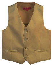 Khaki Boys 4-Button Suit Vest