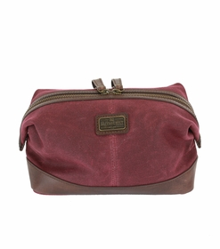 Langdale Dark Port Wash Bag