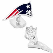 Palladium Edition New England Patriots Cufflinks