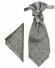Paul Malone Cravat and Pocket Square (PLV30H)