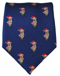 Paul Malone Holiday Men's Tie (Bear)