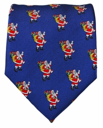 Paul Malone Holiday Necktie (Santa Claus)