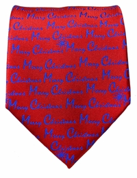 Paul Malone Holiday Tie (Merry Christmas)