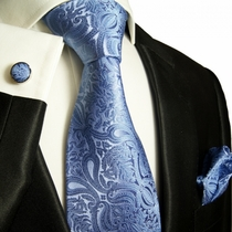 Paul Malone Silk Tie Set  (818CH)