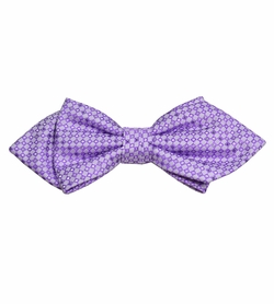 Purple Silk Bow Tie by Paul Malone Red Line