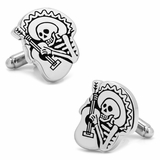 Skeleton Mariachi Cufflinks
