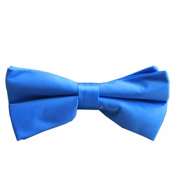 Solid Blue Bow Tie (BT10-GG)