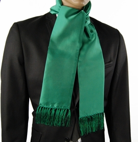 Solid Green Men's Scarf (SC100-Z)