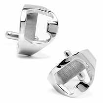 Stainless Steel Bottle Opener Cufflinks