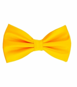 Yellow Bow Tie and Pocket Square Set (BT100-J)