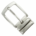 "4008D NB Double Loop Clamp Belt Buckle fit's 1-1/8"" (30mm) wide Belt"
