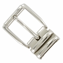 "4010D NP Double Loop Clamp Belt Buckle fit's 1-1/8"" (30mm) wide Belt"