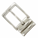 "4089D NP Double Loop Clamp Belt Buckle fit's 1-1/8"" (30mm) wide Belt"