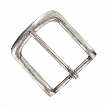 """CX-160 NP Belt Buckle 1.5"""" (38mm) Wide Nickle Plated Finish"""