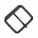 "Metal Roller Buckle 1-1/2"" Wide - Black"