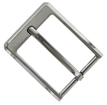 Slanted Edge Polished Replacement Belt Buckle - Z35190-GUN