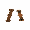 "Symbol ""/"" Screw Back Concho-Copper"