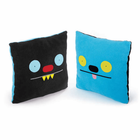 "14"" Double-Sided Pillow - Ninja Batty Shogun/Ket"