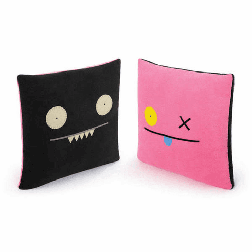 "14"" Double-Sided Pillow - OX/Ice Bat"