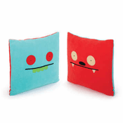 "14"" Double-Sided Pillow - Uglybot/Dave Darinko"