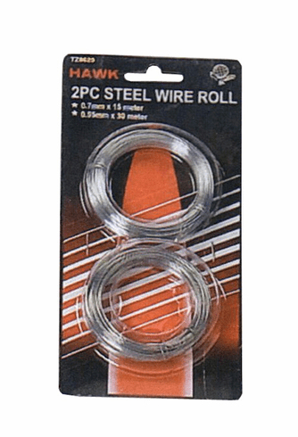 2 pc Steel Wire Roll