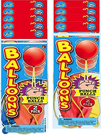 2 Punch Balloons