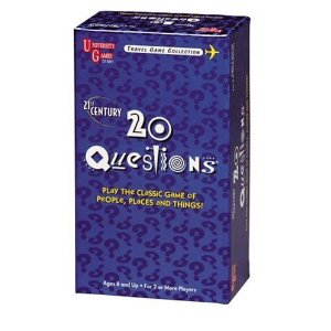 20 Questions for Travel Card Game