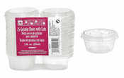 25 Gelatin Shot Cups with Lids