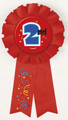 2nd Place Prized Ribbon