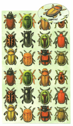 3D STICKERS: Bugs
