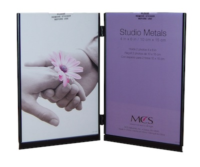 4 x 6 Double Studio Metal Frame