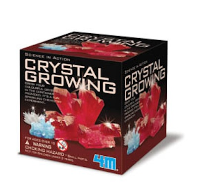 4M Science In Action Crystal Growing Kits
