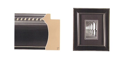 """5"""" x 7"""" Windsor with Black Beads Frame"""