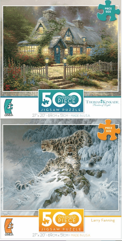 500 Piece Jigsaw Puzzle Collection