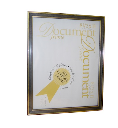 "8.5"" x 11"" Document Frame"
