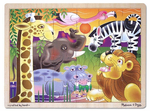 African Plains Jigsaw