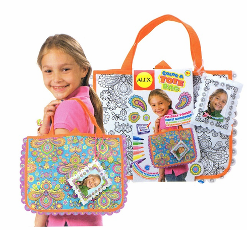 Alex Color a Tote Bag